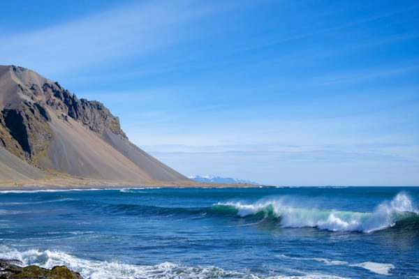 Surf To The Mountains - Hvalnes Iceland