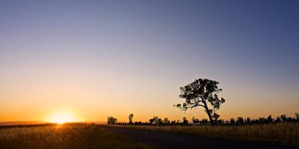 Sunrise Over The Liverpool Plains - Caroona NSW Australia | Sunrise
