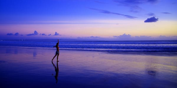 Strike A Pose - Double Six Beach Seminyak Bali Indonesia | Sunset