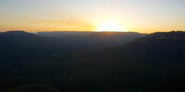 Sublime Sunset - Leura Blue Mountains National Park NSW Australia | Sunset