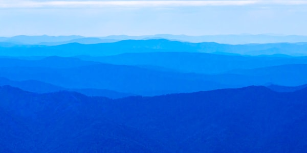 Sea Of Mountains - Koscuiszko National Park NSW Australia