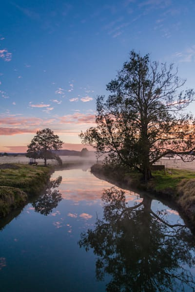 Pastel Reflection - Hunter Valley NSW Australia | Sunrise