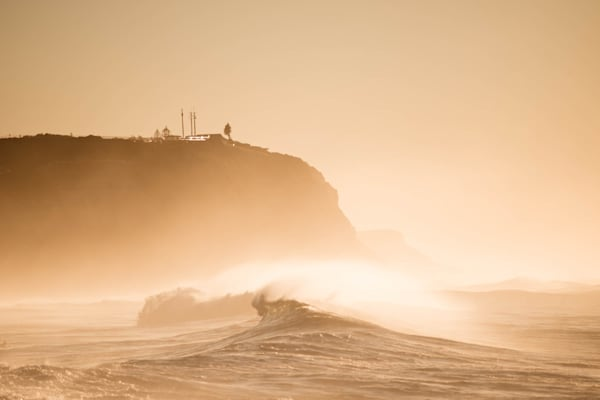 Misted Swell - Merewether Beach Newcastle NSW Australia | Surf