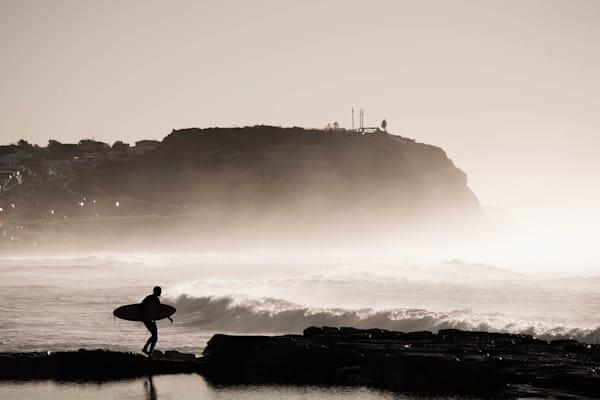Lone Rider - Merewether Beach Newcastle NSW Australia | Surf