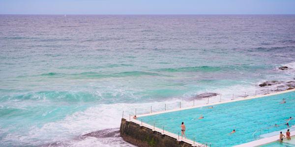 Icebergs View - Bondi Beach Sydney Australia