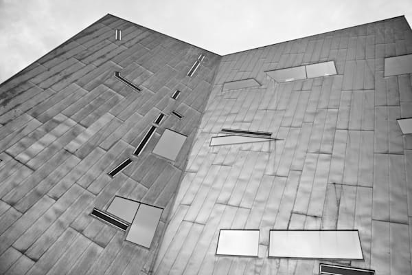 Geometric Planes - Fed Federation Square Melbourne Australia | Black & White