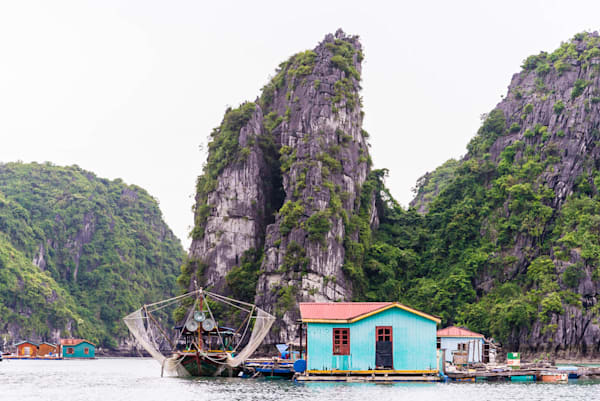 Floating Domain - Vung Vieng Floating Fishing Village Halong Bay Vietnam