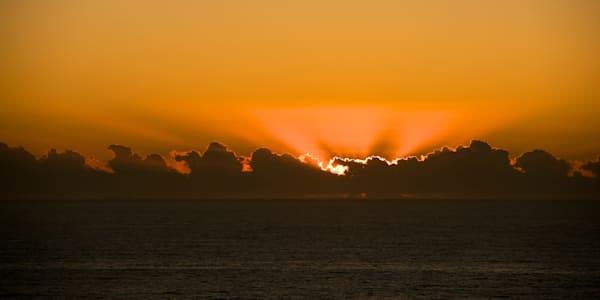 Fire In The Sky - Redhead Bluff Newcastle Lake Macquarie NSW Australia | Sunrise