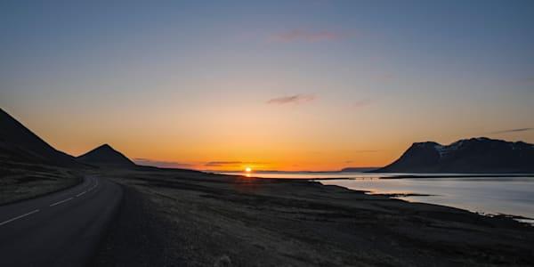 First Icelandic Sunrise - Grundarfjordur  Snæfellsnes Iceland | Limited Edition