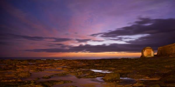 Embers Of Dawn - Newcastle Ocean Baths Bogey Hole Newcastle NSW Australia | Dawn Sunrise