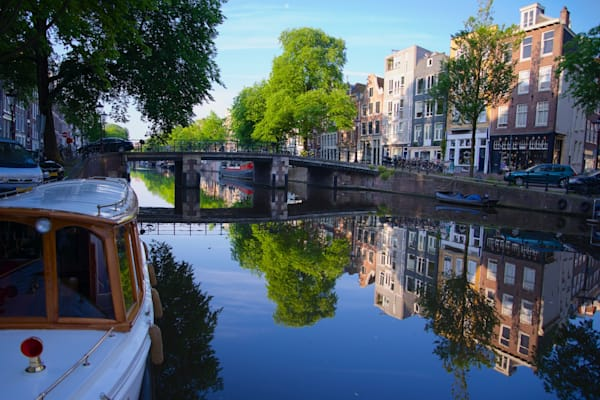 Canal Life - Amsterdam Holland The Netherlands