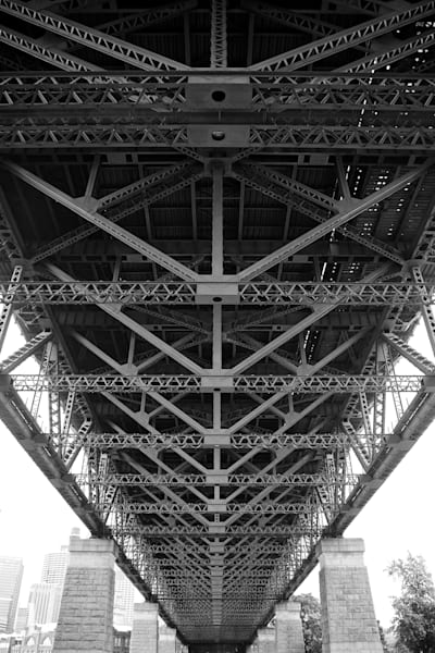 Bridges Skeleton - Sydney Harbour Bridge Sydney Australia | Black & White