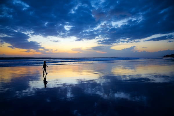Blue Reflections - Double Six Beach Seminyak Bali Indonesia | Sunset