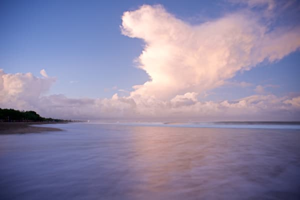 Billowing Sky - Double Six Beach Seminyak Bali Indonesia | Sunrise