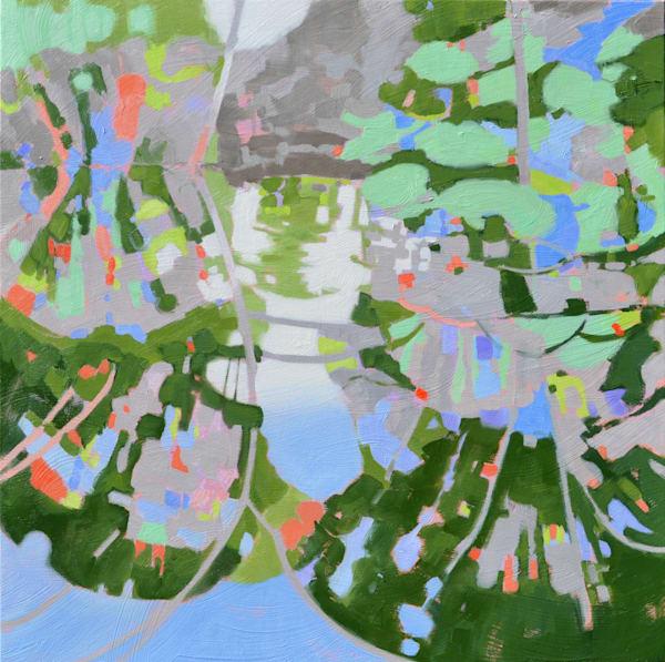 Brookgreen Creek Abstract art for sale