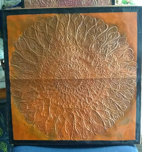 Rust Tribal Mandala