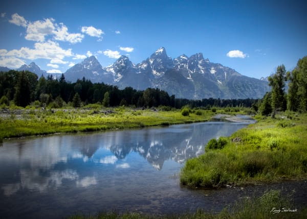 Schwabacher Landing Hdr R Asf Art | Randy Sedlacek Photography, LLC