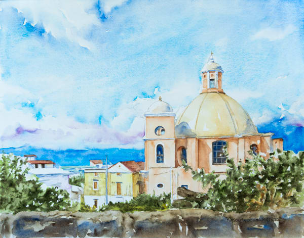 Paintings of the Amalfi Coast for Sale | Kimberly Cammerata