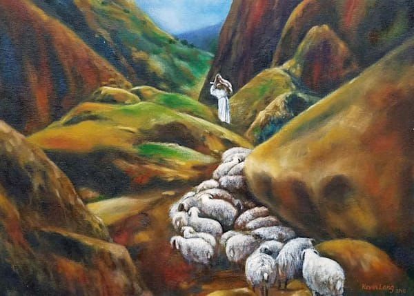 The Lost Sheep  Art | Kevin Lang Fine Art