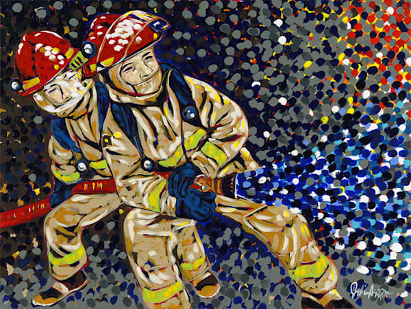 Firefighters Art | Jodi Augustine Art