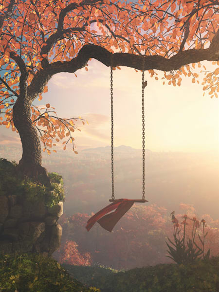 Tree Swing | Cynthia Decker