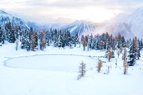 Jumbo Pass first snow