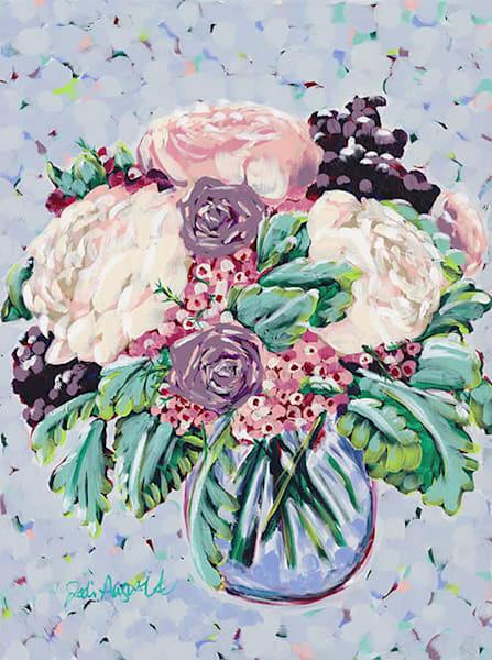 Purple Bouquet Art | Jodi Augustine Art