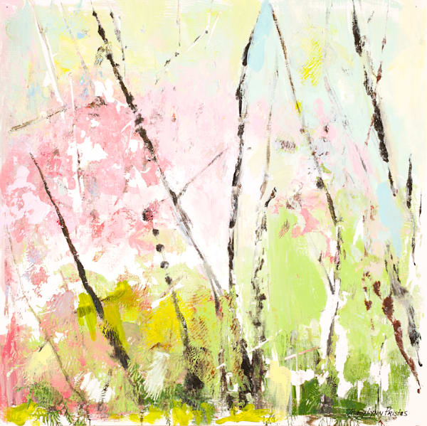 Pastel Tree Branch Wall Art