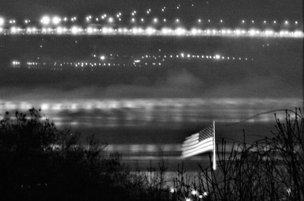 Flag on the Hudson