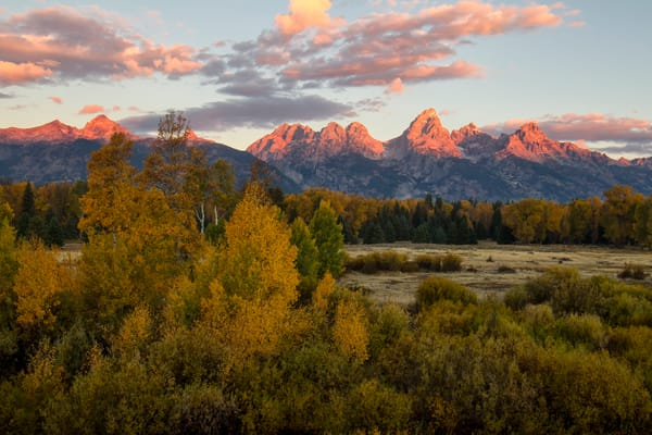 Tetons of Wyoming