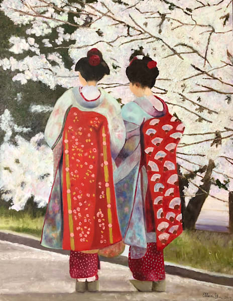 Pair of Geishas