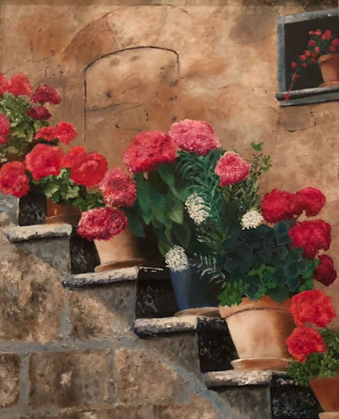 Italian Steps Art | Marci Brockmann Author & Artist