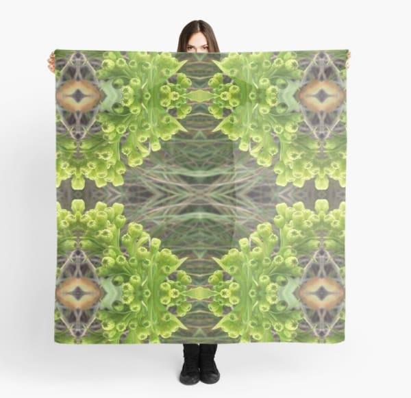Goldenrod Tapestry Scarf | Marci Brockmann Author, Artist, Podcaster & Educator