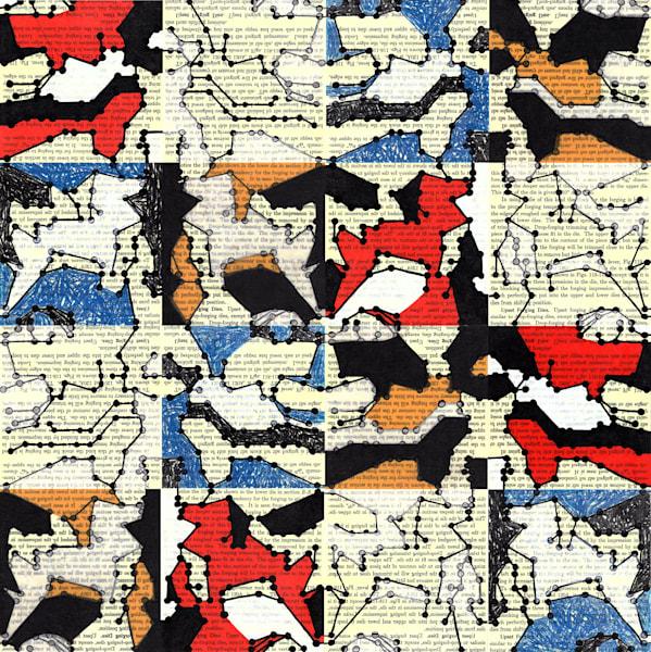 Redaction In A Minor Remix (Variation Iv, Vi, X, Xii, Parts A D) Art | Moxie Color LLC