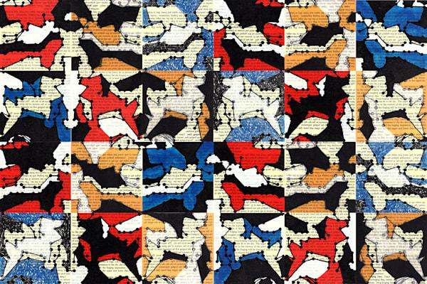 Redaction In A Minor Remix (Variation V, Vi, Vii, X, Xii, Xii, Parts A D) Art | Moxie Color LLC