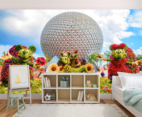 Epcot Flower and Garden 5 - Disney Wall Murals | William Drew