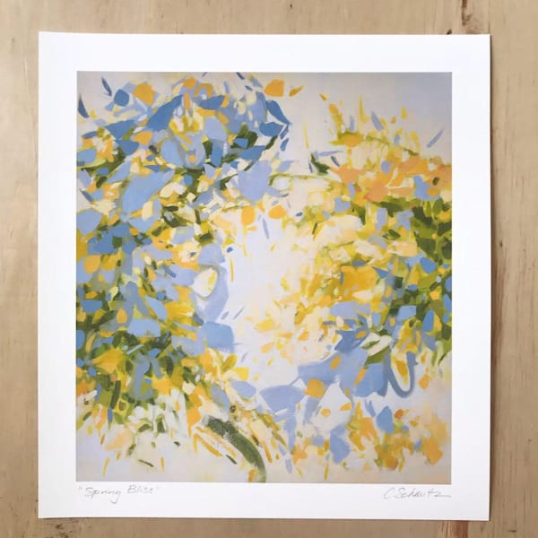 Spring Bliss, Hand Signed Pigment Print On Paper, 13x12  | cameronschmitz