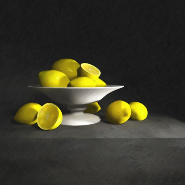 Still Life with Lemons | Cynthia Decker