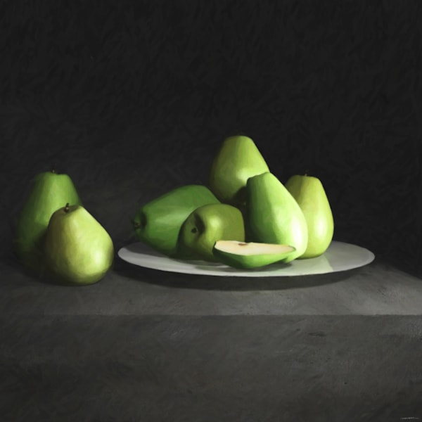 Still Life with Pears | Cynthia Decker
