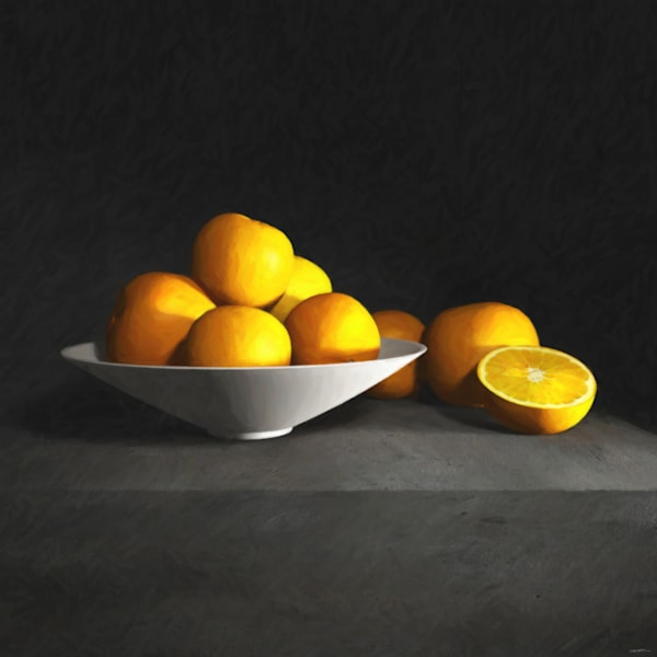 Still Life with Oranges | Cynthia Decker