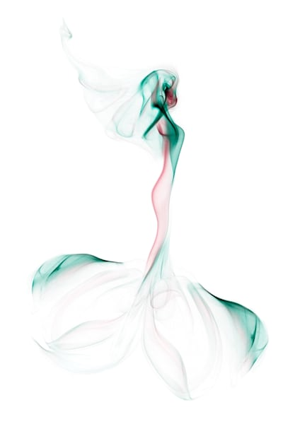 The Bride Studio Shoot - Smoke Feine Form | Doug Hall | Abstract Art