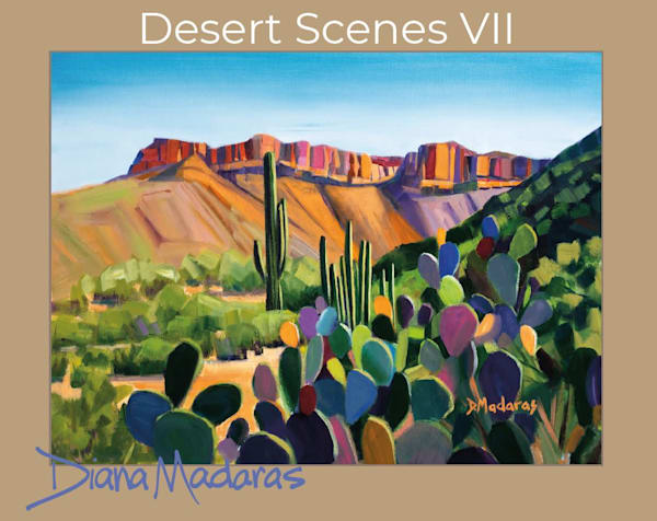 Arizona Desert Scenes Box Cards