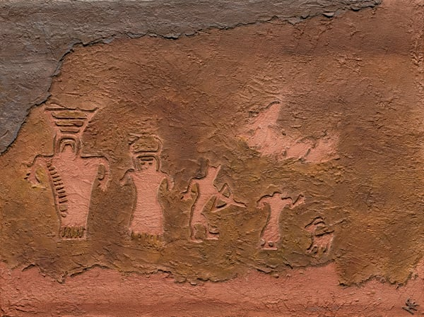 Native American Petroglyph Art for Sale | A Fine Finish Studio