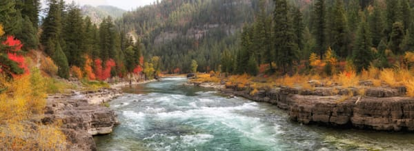Snake River Canyon, Fall, Alpine, WY