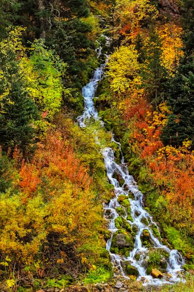 Janee Falls, Swift Creek Canyon, Afton, Wy Photography Art | Mallory Winters Photography