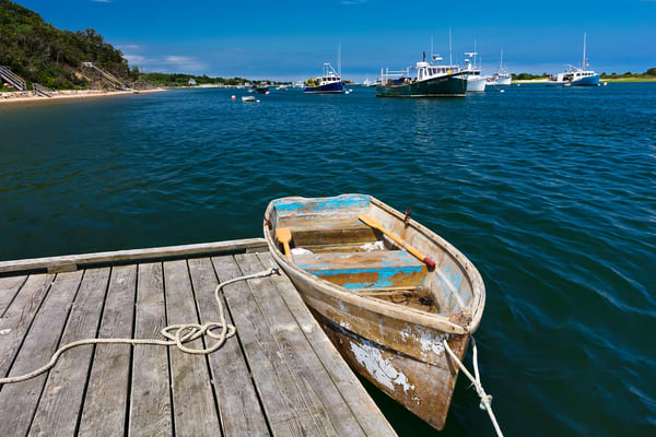 """Chatham Harbor Summer Afternoon"" Cape Cod Coastal Fine Art Photography"