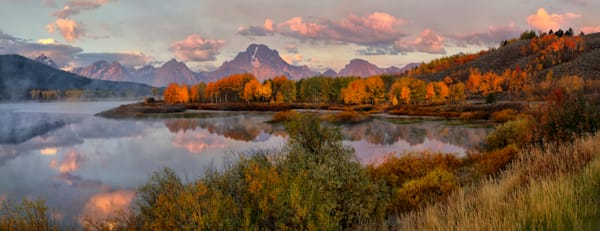 Fall at Oxbow Bend, Grand Teton National Park