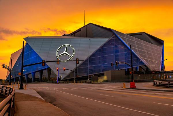 Early Evening Benz | [Atlanta] Susan J Photography