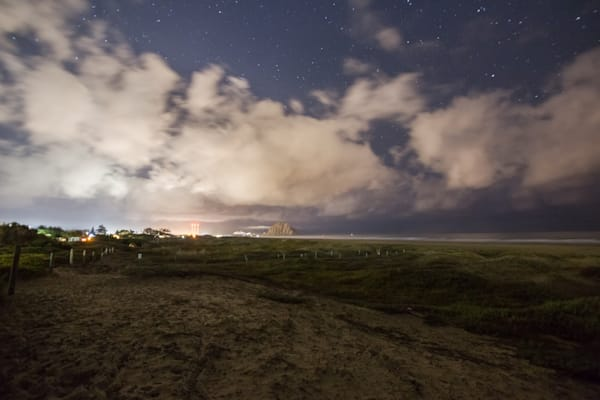 Morro Strands Nightscape