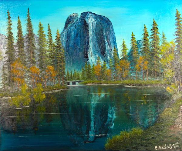 Yosemite painting: Shop Print / Errymil Batol art